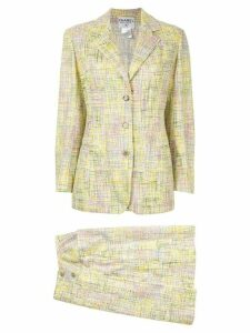 Chanel Pre-Owned 1998's Setup suit jacket skirt - Green