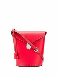 Calvin Klein hanging tag bucket bag - Red