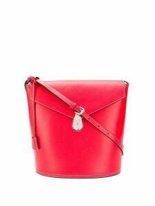 Calvin Klein hanging tag shoulder bag - Red