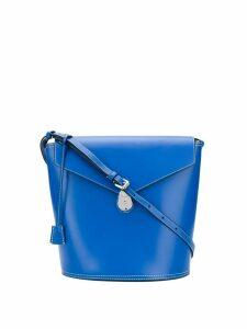 Calvin Klein hanging tag detail shoulder bag - Blue