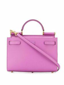 Dolce & Gabbana small Sicily 62 tote bag - Purple