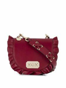 Red Valentino RED(V) frill detail shoulder bag