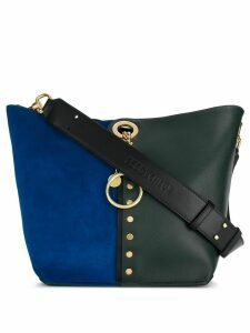 See By Chloé Gaia colour-block tote - Green