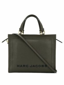 Marc Jacobs logo plaque tote bag - Grey