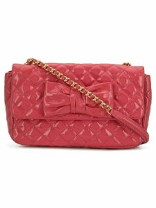 Moschino Cheap & Chic quilted crossbody bag - Pink