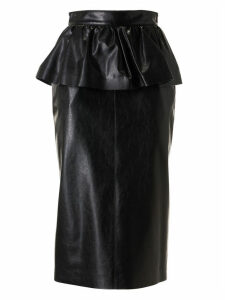 MSGM Side Waist Small Skirt Detailed Skirt