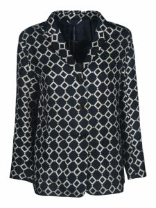 S Max Mara Here is The Cube Motif Print Blazer