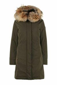 Woolrich Luxury Boulder Parka With Fur Trimmed Hood