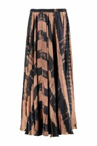 Mes Demoiselles Printed Satin Skirt