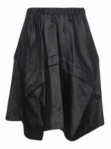 Comme des Garçons Ribbed Waist Elastic Skirt