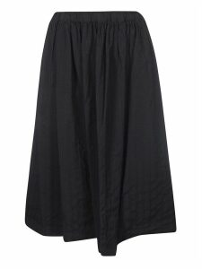 Comme des Garçons Ribbed Elastic Waist Skirt