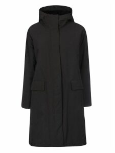 Aspesi Wide Neck Hooded Parka