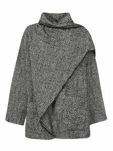 Isabel Marant Wrapped Round Neck Coat