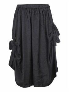 Comme des Garçons Bow-tie Detailed Skirt