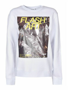 MSGM Flash Art Sweatshirt