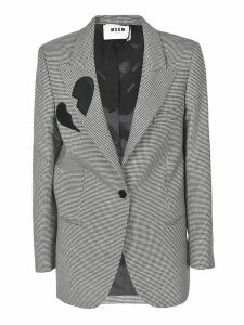 MSGM Single Breasted Blazer