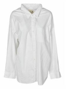 R13 Drop Neck Oxford Shirt