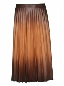 Givenchy Pleated Midi Skirt