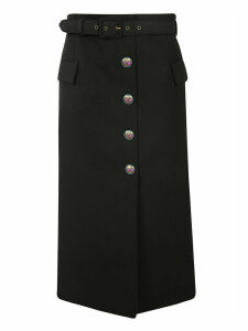 Givenchy Buttoned Skirt