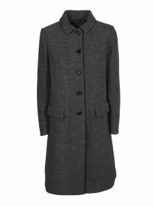 Aspesi Single Breasted Buttoned Coat