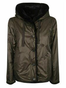 Aspesi Hooded Buttoned Jacket