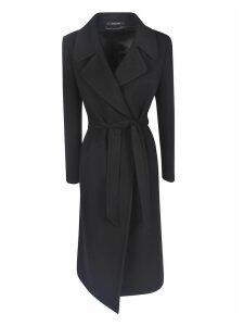 Tagliatore Belted Wrap Coat