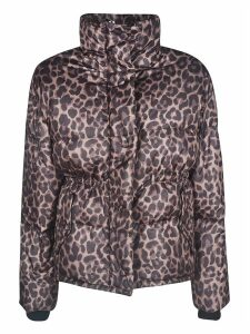 Golden Goose Leopard Padded Jacket