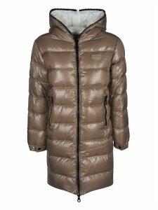 Duvetica Long Zipped Padded Jacket