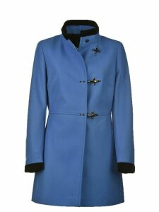 Fay Fay Wool Blend Coat