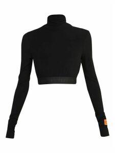 HERON PRESTON Cropped Sweater