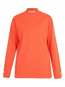 HERON PRESTON Branded Sweatshirt