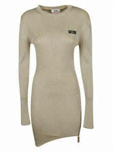 GCDS Logo Patch Sweater Dress