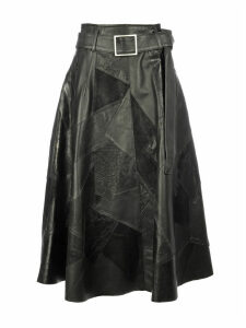 Golden Goose Hinageshi Patchwork Skirt