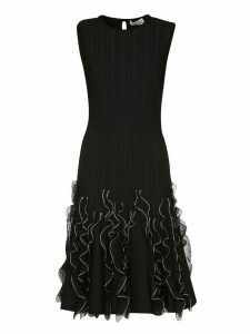 Alexander McQueen Ruffle Wave Dress