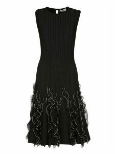 Alexander McQueen Ruffle Wave Dress