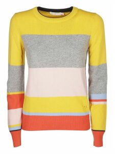 Tory Burch Striped Sweatshirt