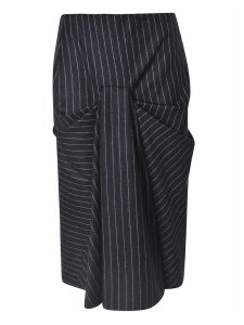 Alexander McQueen Striped Skirt