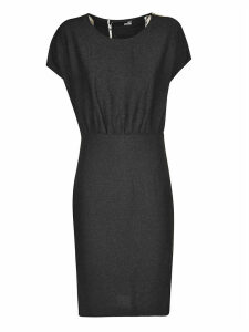 Love Moschino Capped Sleeve Dress