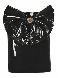 Fausto Puglisi Large Studded Bow Detail Skirt