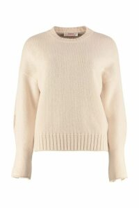 Jucca Crew-neck Virgin Wool Sweater