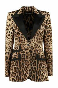Dolce & Gabbana Stretch Wool Blazer