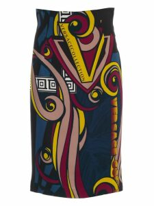 Versace Collection Skirt Pencil Comics Fantasy