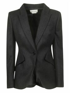 Alexander McQueen Single Buttoned Blazer
