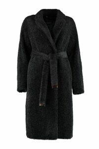 S Max Mara Agiato Faux Fur Coat