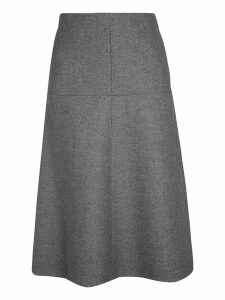 Stella McCartney Wool Felt Coating Skirt
