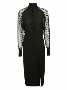Balmain Polka Dot Lace Dress