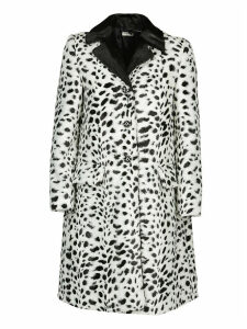 Miu Miu Polka Dot Printed Coat
