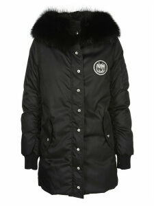 Miu Miu Trimmed Hooded Parka