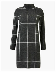 M&S Collection Checked Shift Dress