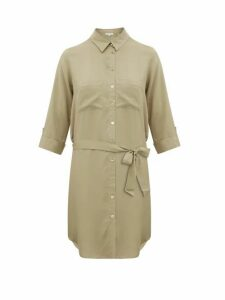 Heidi Klein - Venice Belted Shirtdress - Womens - Khaki